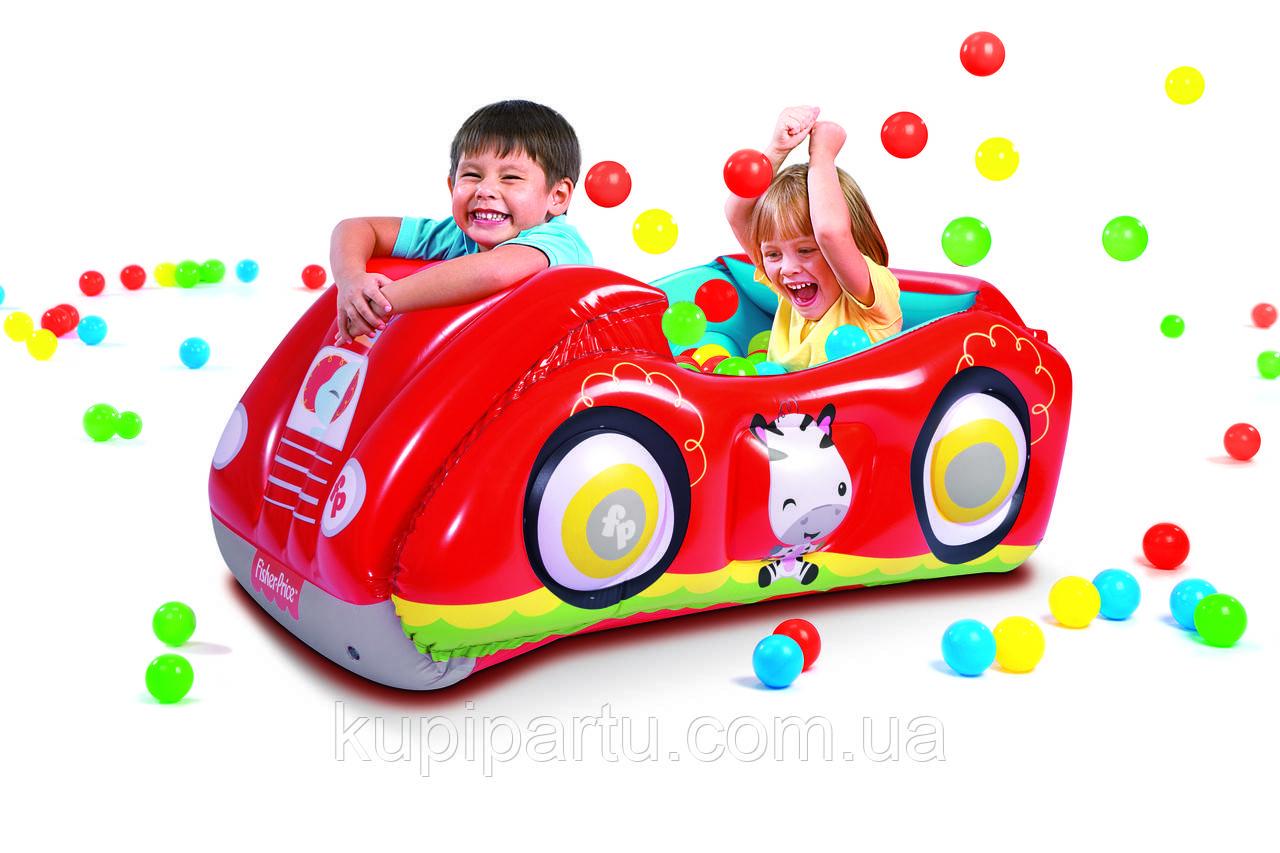 93520 Игровой центр Машина с 25 шариками, Fisher Price, 119 х 79 х 51 см