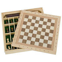 Настольная игра Goki Шахматы, шашки, мельница (56953G)