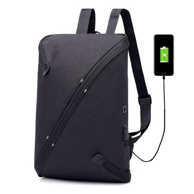 Рюкзак UNO Niid Black полиэфирный (черный)