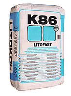 Litokol LITOFAST K86 Серый клей для плитки 20 кг