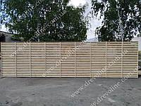 Жалюзи забор из дерева, фото 1