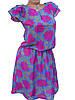 Шифоновое платье в крупные цветы 42р, фото 2