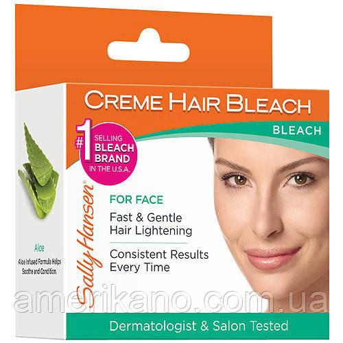 Надоели усики? Набор для обесцвечивания волос на лице Sally Hansen Creme Hair Bleach For Face