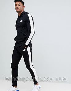 Мужской спортивный костюм  с лампасами Puma (пума)