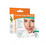 Надоели усики? Набор для обесцвечивания волос на лице Sally Hansen Creme Hair Bleach For Face, фото 2