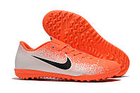 Футбольные сороконожки Nike Mercurial VaporX XII Club TF Hyper Crimson/Black/White, фото 1