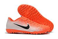 Футбольные сороконожки Nike Mercurial VaporX XII Club TF Hyper Crimson/Black/White