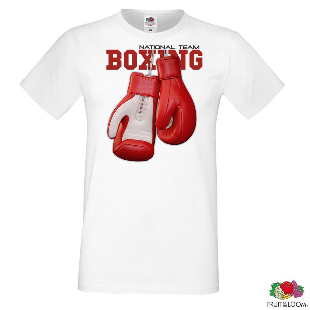 "Мужская футболка с принтом ""Boxing"" Push IT"