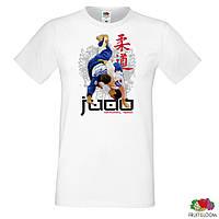 """Мужская футболка Push IT с принтом """"Judo"""""""