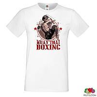 "Мужская футболка Push IT с принтом ""Muay Thai Boxing"""