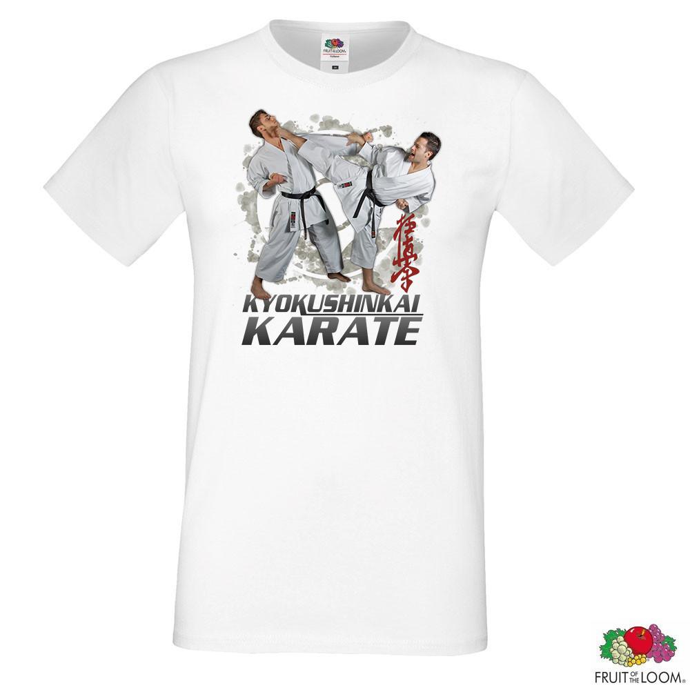 "Мужская футболка с принтом ""Kyokushinkai Karate"" Push IT"