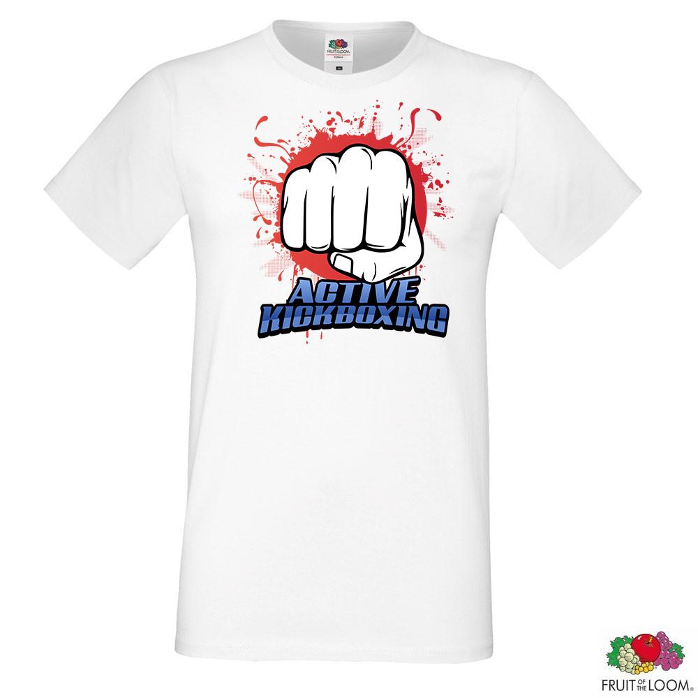 """Мужская футболка с принтом """"M-1 Fighter"""" Push IT"""