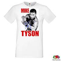 "Мужская футболка Push IT с принтом ""Mike Tyson"""