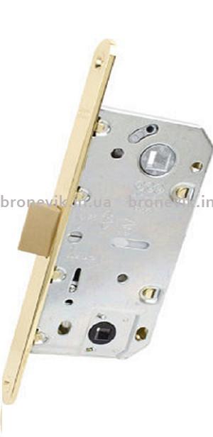 AGB B011023503 Механизм для межкомнатных дверей Mediana Evolution узкий WC латунь 96мм