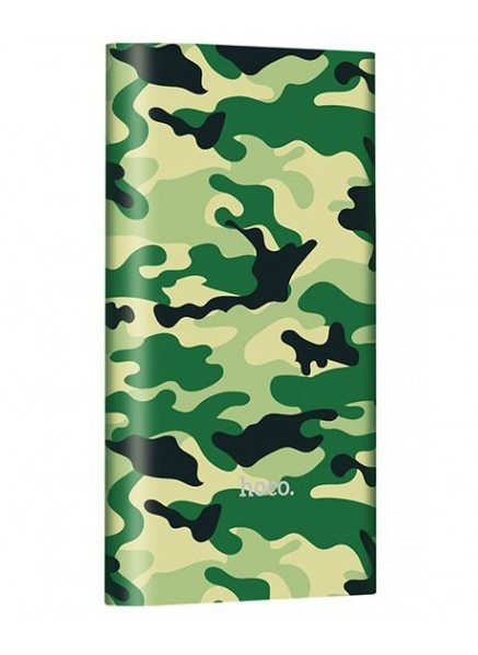 УМБ Hoco J9 Camouflage series 10000 мАг Зелений камуфляж