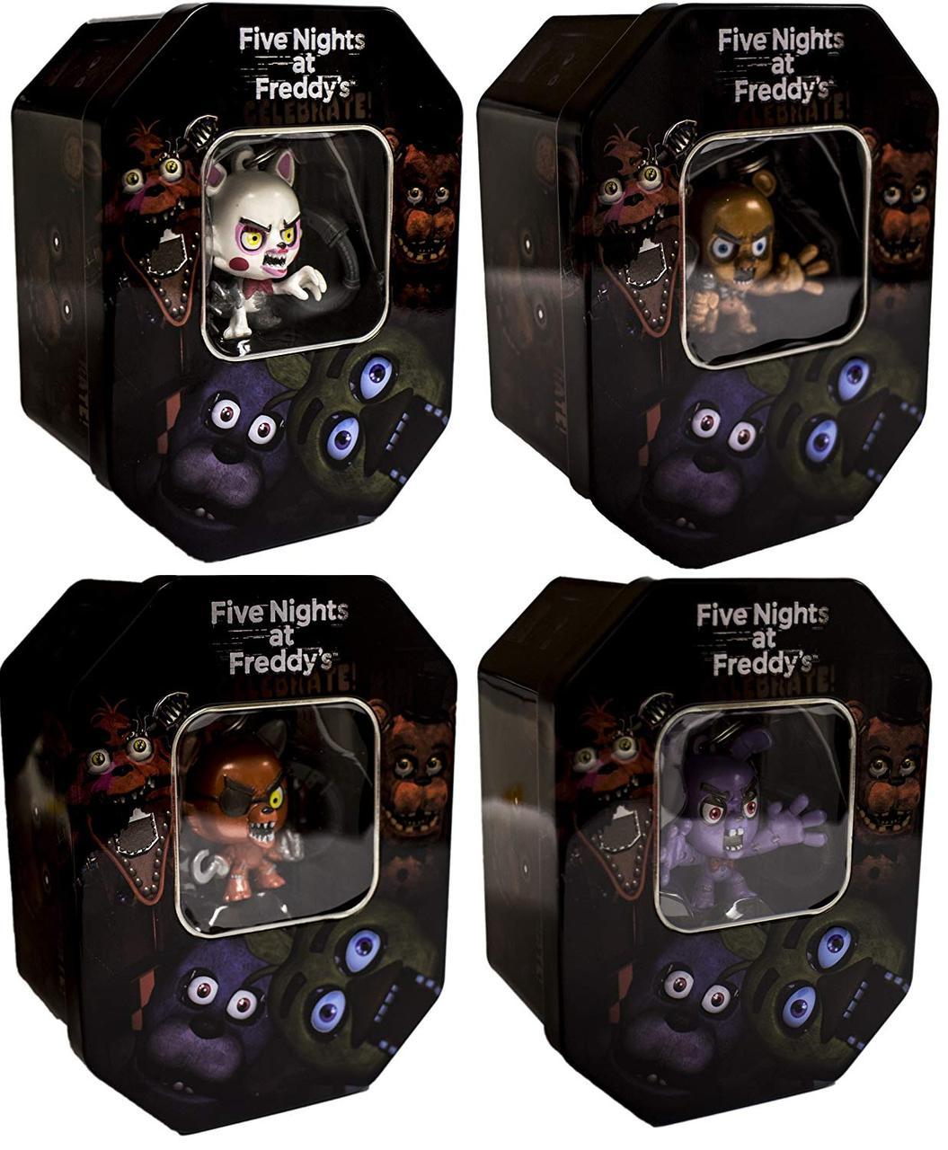 Эксклюзивный набор для коллекционеров Five Nights at Freddy's Exclusive «Mangle, Bonnie, Foxy & Freddy».