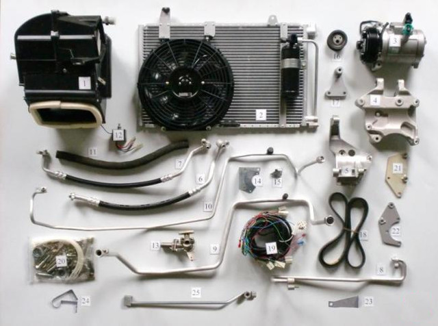 Система охлаждения и кондиционирования автомобиля