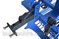 Картофелекопалка для мотоблока КМ-2(под ремень) вибрационная механизированная с активным ножом, фото 6