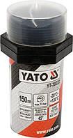 Нитка уплотнительная резьбовых соединений 150 м для давления ≤ 15 Bar в капсуле Yato YT-29222