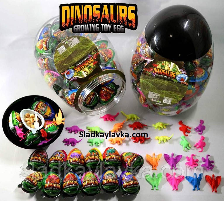 Яйцо King Eggs Динозавр 60 шт (China)