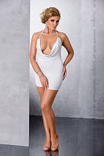 Платье MIRACLE CHEMISE white - Passion 4XL/5XL