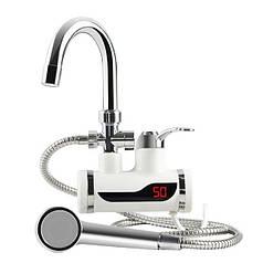 Проточний водонагрівач (бокове підключення)