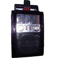 Радиоприемник с led-светильником KN-55REC, караоке-функция, ДУ, Card reader, аккумулятор/батарейки