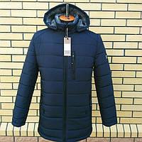 Зимние куртки мужские удлиненные с капюшоном