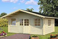 Дом деревянный из профилированного бруса 5.3х4.1. Скидка на домокомплекты на 2020 год