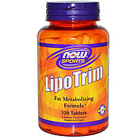 Липотропный фактор липотропин Now Foods Спорт 120 таблеток