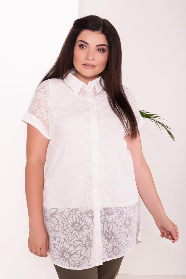 Фото Летней блузы большого размера Аланья-3