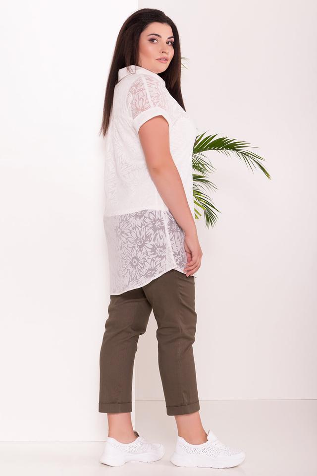 Фото-1 Летней блузы большого размера Аланья-3