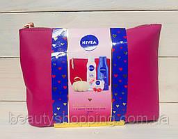 Nivea Body Beautiful for Women подарочный набор 4 предмета + косметичка
