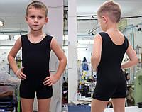 Купальник гимнастический майка-шорты