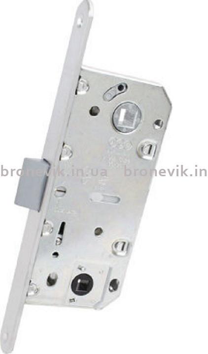 AGB B011023534 Механизм для межкомнатных дверей Mediana Evolution узкий WC матовый хром 96мм