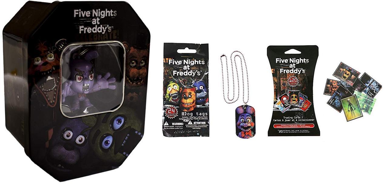 Эксклюзивный набор для коллекционеров Five Nights at Freddy's Exclusive «Bonnie» 5 ночей с Фредди