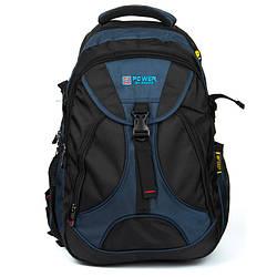 Рюкзак Міський нейлон Power In Eavas 8516 black-blue