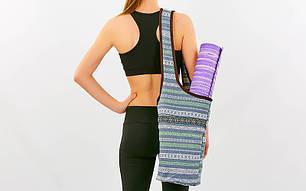 Сумка для фитнеса и йоги через плечо Yoga bag KINDFOLK FI-8364-3, фото 2