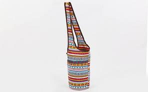 Сумка для фитнеса и йоги через плечо Yoga bag KINDFOLK FI-8364-1, фото 2