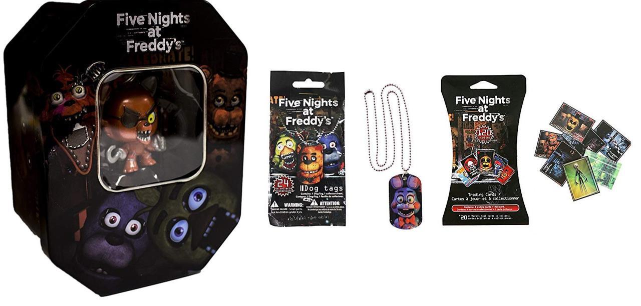 Эксклюзивный набор для коллекционеров Five Nights at Freddy's Exclusive «Foxy» 5 ночей с Фредди