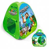 """Дитяча ігрова палатка """"Майнкрафт"""" 84899"""