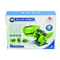 Конструктор Same Toy Робот-конструктор Динобот 4 в 1 на солнечной батарее (2125UT)