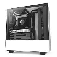 Корпус NZXT H500 White Black (CA-H500B-W1)