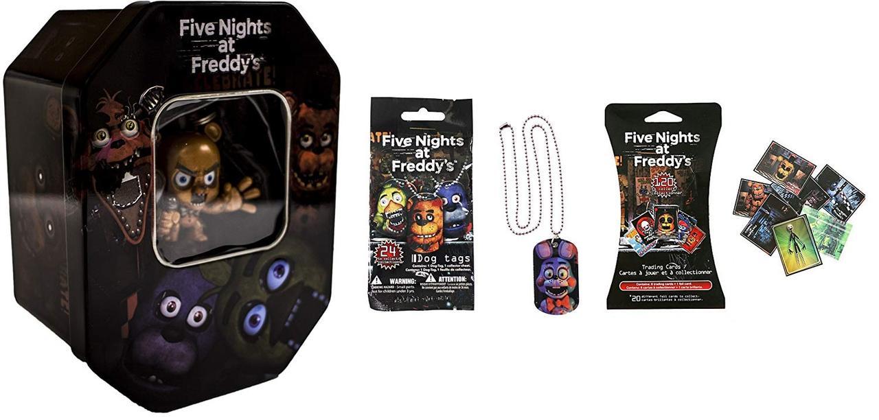 Эксклюзивный набор для коллекционеров Five Nights at Freddy's Exclusive «Freddy» 5 ночей с Фредди