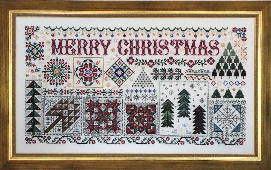 Rosewood Manor Christmas Quilts / Різдвяні квилты