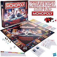 Настольная игра Монополия Очень странные дела Monopoly Stranger Things