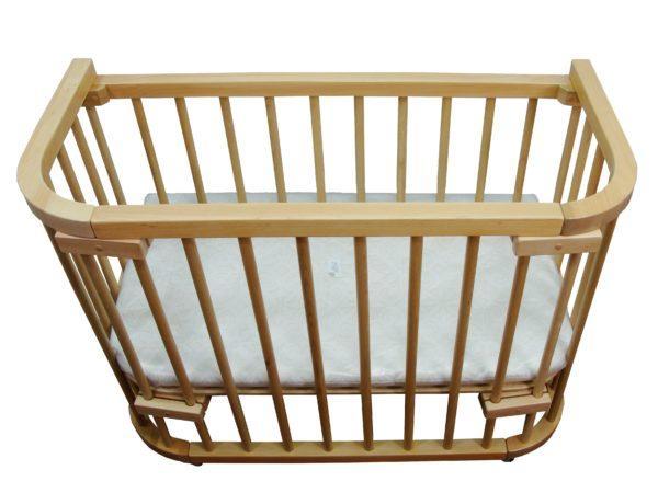 Кроватка приставная Baby dream classic 100×45, лакированная