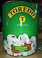 "Шампиньоны ""Торедо"" 6*3100мл ж/б (резан.)"