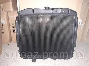 Радиатор  ГАЗ 3307, ГАЗ 3309 3-х рядный Иран