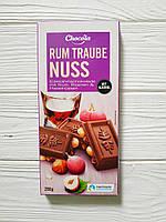 Шоколад молочный Chocola Rum Traube Nuss 200гр (Германия)